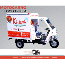 Motocarro Nuevo Foodtruck Negocio Móvil Equipado Económico