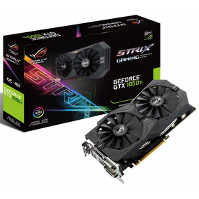 Placa De Vídeo Asus Geforce® Gtx 1050ti 4gb Rog Strix Aura
