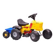 Tractor Rodacross A Bateria Con Trailer Auto Planeta
