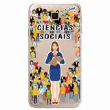 Case Capa Capinha Samsung Galaxy J5 Prime Ciências Sociais F