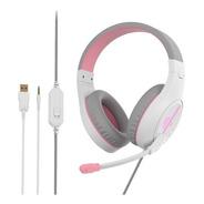 Auriculares Gamer Meetion Hp021 Para Pc Y Consola Con Luz