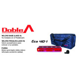 Pedalboard Doble A® - Modelo Eco 40-1 (incluye Estuche)