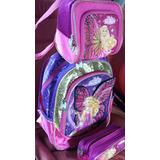 Mochila Barbie Butterfly Da Princesa Fairy Com As Asinhas