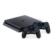 Consola Ps4 Slim Sony 1tb Sony Playstation 4 + 2 Controles !