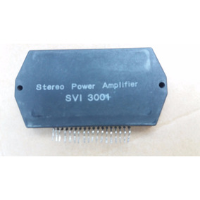 Ci Stereo Power Amplifier Svi3001