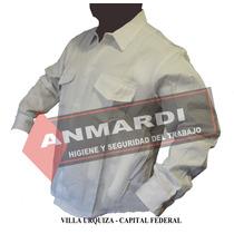 Ropa De Trabajo Camisa O Pantalón Blanco Tipo Grafa Iva Inc