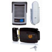 Kit Interfone Porteiro Agl + Fechadura Elétrica Agl