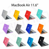 Carcasa Mate Macbook Air 11 Corte Manzana Original Sellada