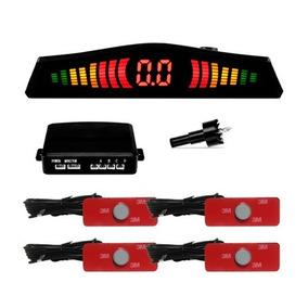 Sensor De Estacionamento Oem Orbe 4 Pontos Embutir Branco