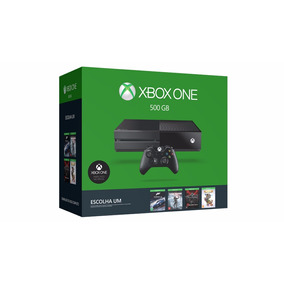 Video Game Microsoft Xbox One 500gb 2 Jogos Controle E Head
