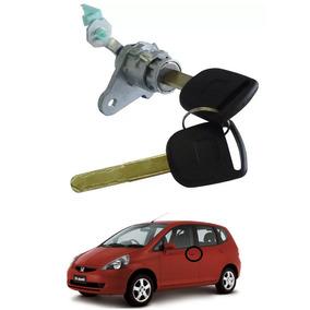 Cilindro Miolo Porta C/chaves Esquerdo Honda Fit 04 A 08