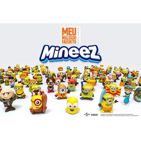 Mineez Miniaturas Meu Malvado Favorito Minions Promoção
