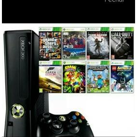 Xbox 360 Desbloqueado + 5 Jogos Frete Gratis !!