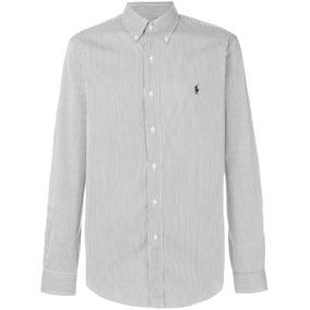 Camisa Social Masculina Ralph Lauren Listrada 100% Original!