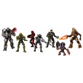 Halo Universe Series Wave 2 Set 6 Figuras Mattel Nuevo Dnt98