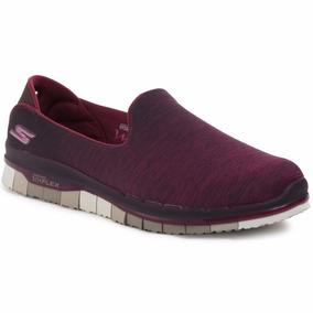 Zapatillas Skechers Go Flex Walk Caminata Memory Foam Mujer