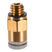 Racord Creality M6 4mm Para Teflón 4mmx2mm  Pc4-m6
