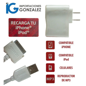 Cargador Universal Con Cable Iphone 4 Gowin Red-6233