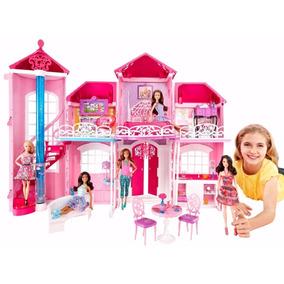 Mansão Casa Da Barbie Em Malibú 3 Andares - Gigante Pronta
