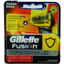 Gillette Fusion Proglide Laminas Para Aparelho De Barbear