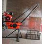 Pluma Grua 300 Kilos Motor Diesel 10hp -3.600 Rpm