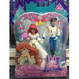 Princesa Ariel Principe Eric Fairytales Wedding Mattel