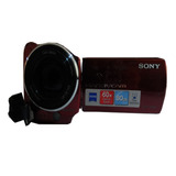 Camara De Video Sony Dcr-sx22 / Con Pila Y Cable Usb