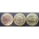 Colombia Trio De Fichas De La Casa De La Moneda