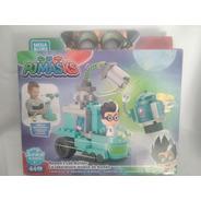 Romeo Laboratorio Movil Pj Mask Heroes En Pijamas Mega Bloks