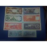 Colección De 8 Billetes Antiguos