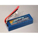 Bat Lipo Zippy De 3s 5000mah 30c Hardcase Autos Rc Nuevas!!