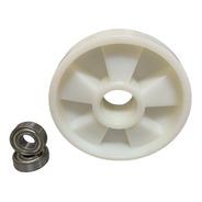 Roda Direcional Paleteira Paletrans Tm 180x50 Com Rolamento