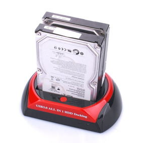 Case Hd All In 1 Suporte Hdd Docking Usb 2.0 Sata Backup