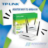 Router Wifi Tp-link Dos Antenas 300mbps Tl-wr841n
