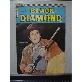 Gibi Nevada 2ª Série N° 37 Black Diamond Ebal 1967