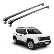 Travessa Bagageiro Rack Jeep Renegade 2015 A 2019 Preto Slim