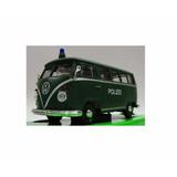 Camioneta Volkswagen Van Samba Escala 1/24 Coleccion Welly *