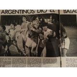 Argentinos Juniors Vs San Lorenzo 1972 Vino Toro Publicidad