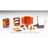 Kit Herramientas Beta Tool Para Diorama Taller - F Tsm 1/43