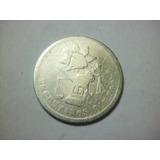 Republica Mexicana 25 Centavos Balanza Fecha 1888 Plata .902