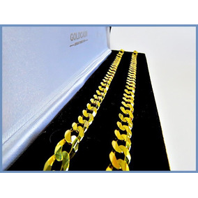 Cadena Oro Amarillo Solido 14k Mod Barbada De 8mm 39gr Acc