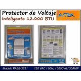 Protector De Voltaje Avtek (120v -12.000 Btu)