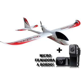 Planador Phoenix 757-2 6ch Radio 2.4ghz Gigante Com Câmera