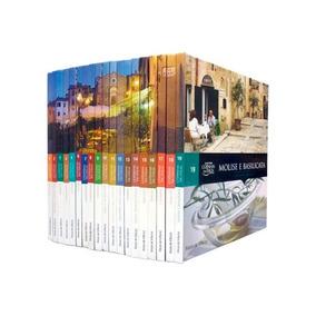 Coleção Folha Cozinhas Da Itália Kit 18 Volumes Gastronomia