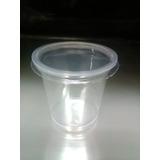 Envase Plastico Tipo Vaso O Tina De 6 Onzas