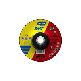 Disco Desbaste Inox 7 X 1/4 X 7/8 Bda630 Cjax10uni Norton
