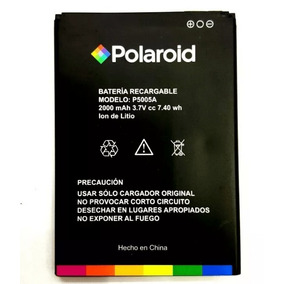 Pila Bateria Polaroid P5005a C5 Turbo 2000 Mah 3.7v E/g