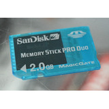 Memory Stick Pro Duo Mark2 Sony 2gb