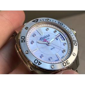 Relógio Alpina Seastrong Mother-of-pearl Al240lsd3v6b