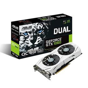 Placa De Video Geforce Gtx 1060 Asus Dual Oc 6gb